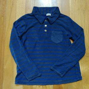 Splendid Little Boy Collared Long-Sleeved Shirt